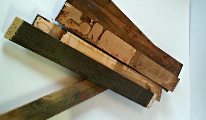 Pile of slates