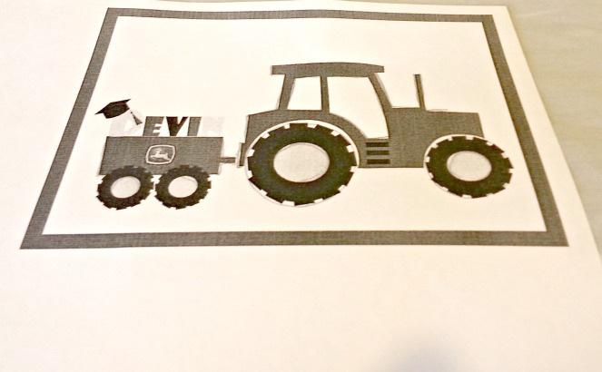 Free Printable Tractor